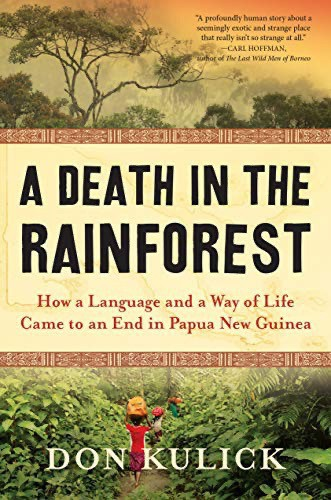 Death in the Rainforest book cover.