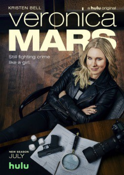 Veronica Mars Season 4 poster, showing the lead, eponymous character.