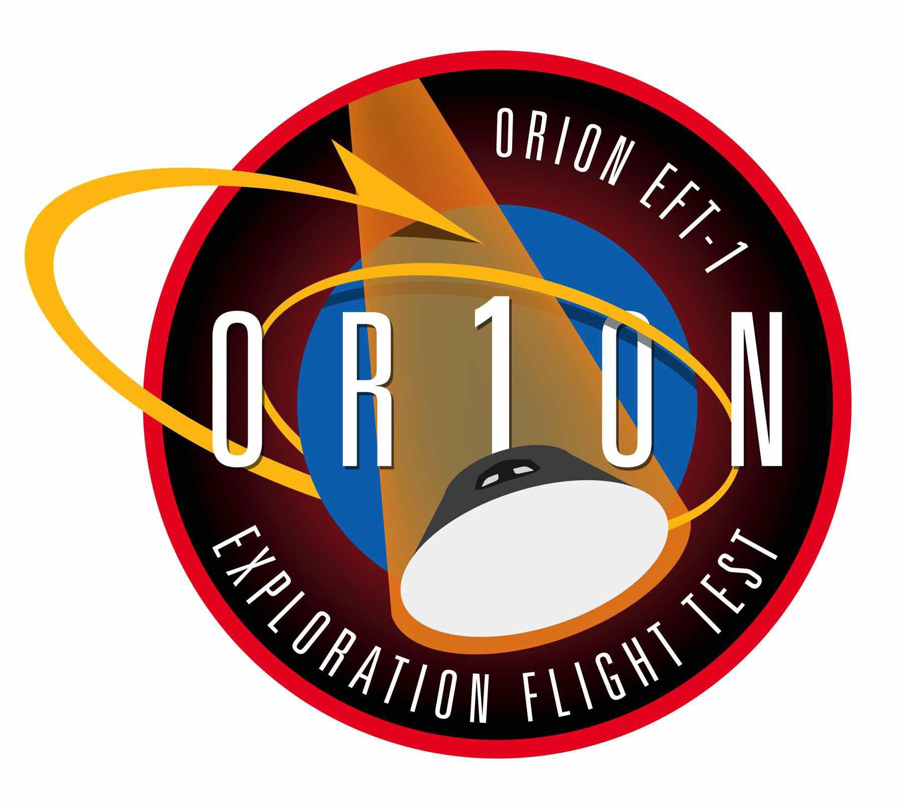 Orion Test Flight 'mission patch'.