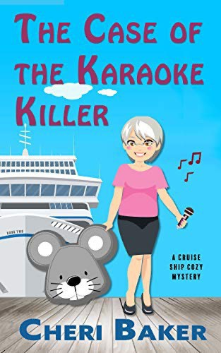 Book cover for The Case of the Karaoke Killer.