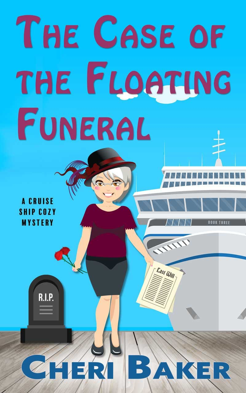 The Case of the Floating Funeral book cover.