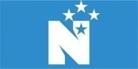 National party logo featuring blue.