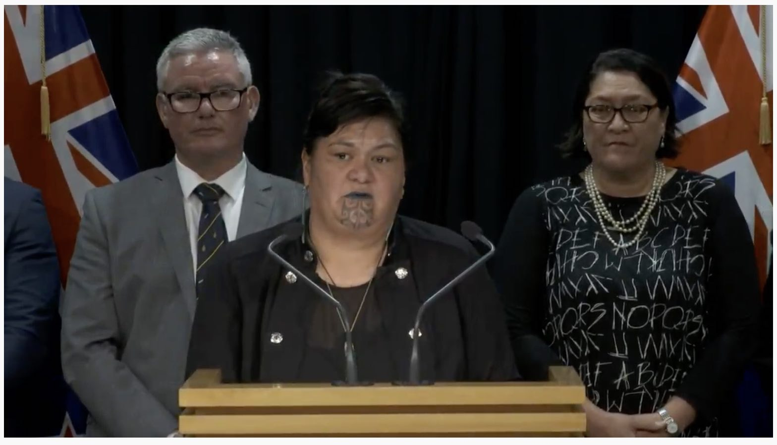 Nanaia Mahuta, new Minister of Foreign Affairs.