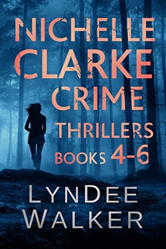 Nichelle Clarke Crime Thrillers, books 4 to 6 cover.