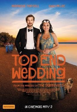 Top End Wedding movie poster.