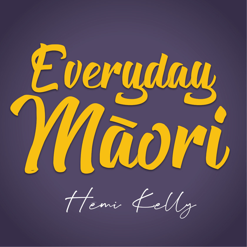 Everyday M�ori podcast artwork.