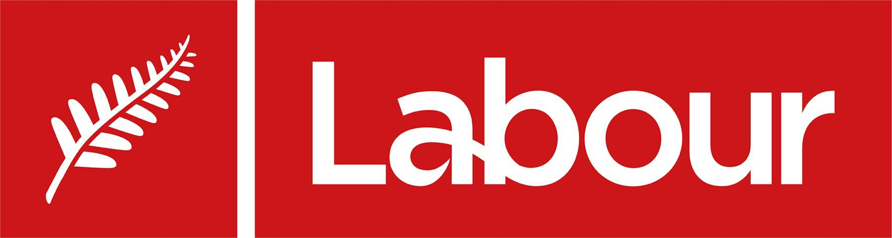 Labour party logo featuring red.
