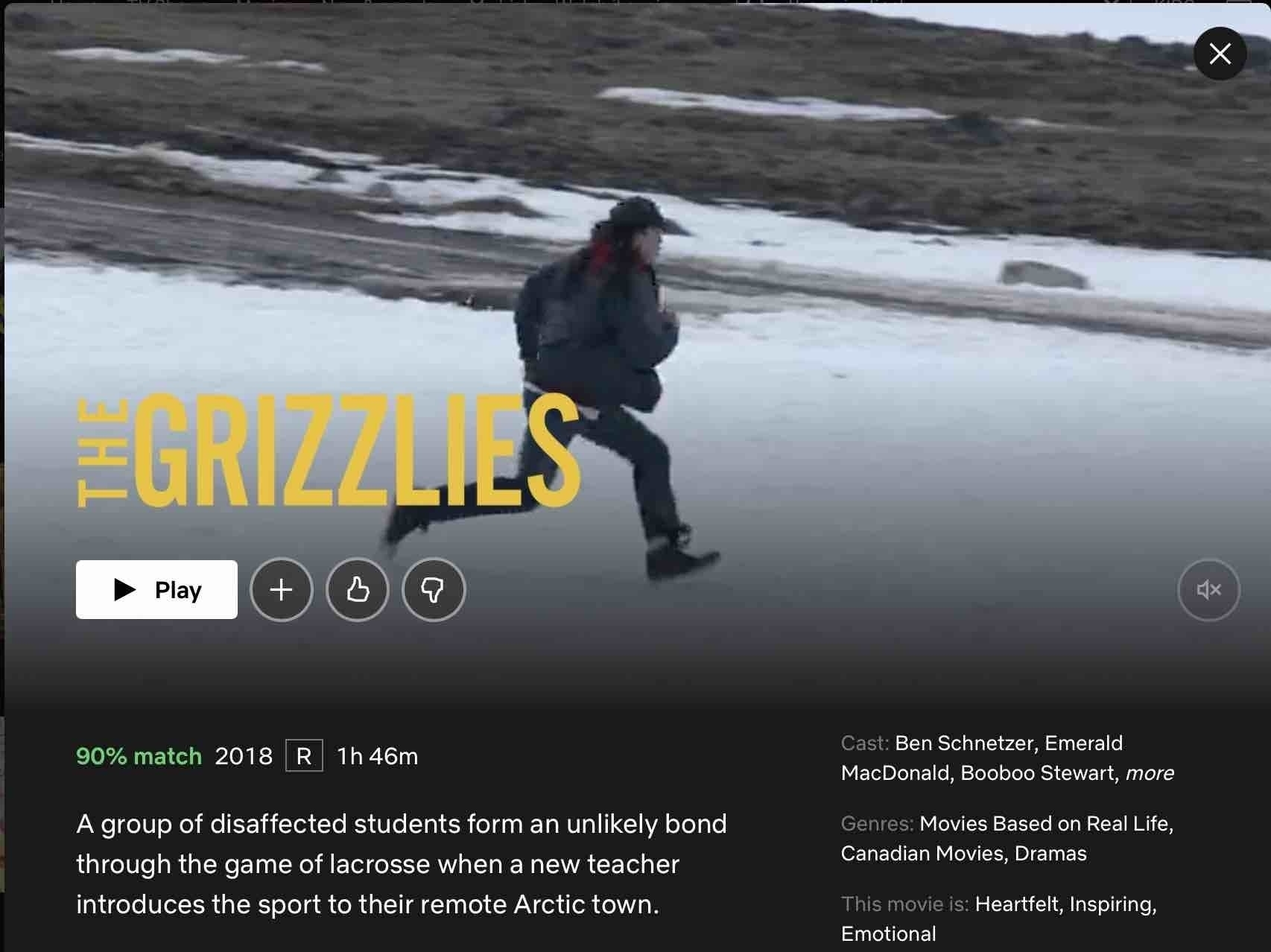 Screenshot from The Grizzlies.
