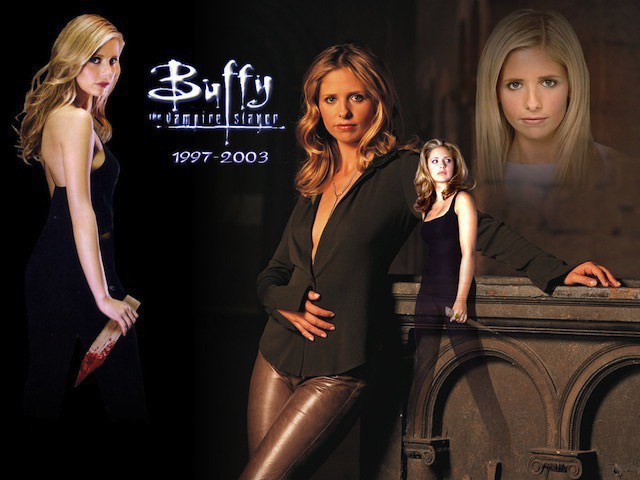 Images of Buffy.