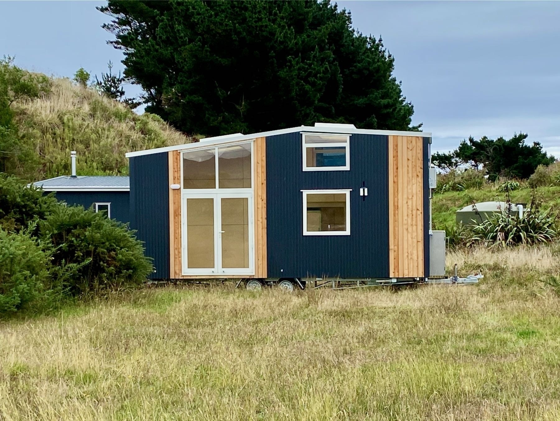 Front side of the tiny house.