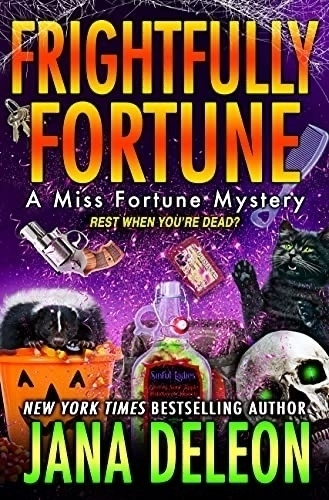 Frightfully Fortune book cover.