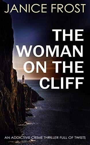 Cover: The Woman on the Cliff by Joy Ellis.