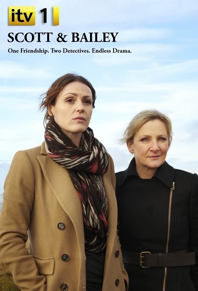 Scott and Bailey poster.