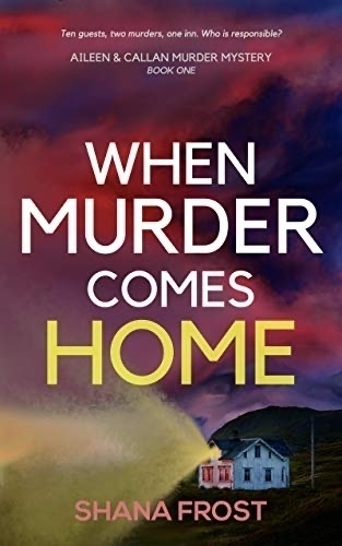 When Murder Comes Home book cover.