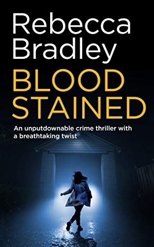 Blood Stained book cover.