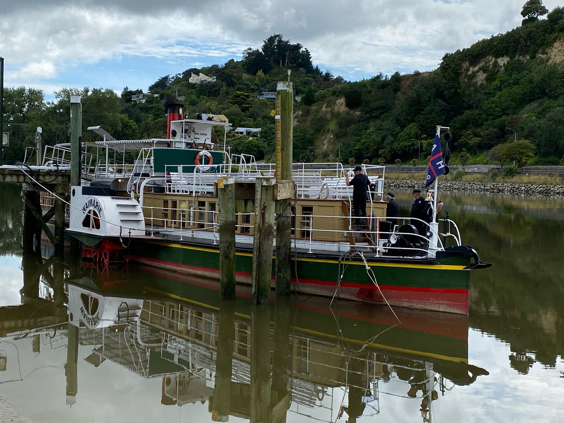 """Paddle boat steamer at its mooring.""""  /></p>    </section>  </article>     <template id="""