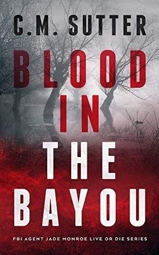 Book cover: Blood in the Bayou.