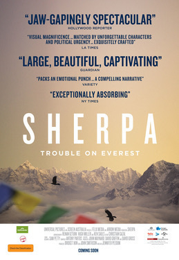 Sherpa movie poster.